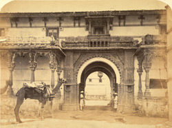 Entrance to the Old Palace, Palitana